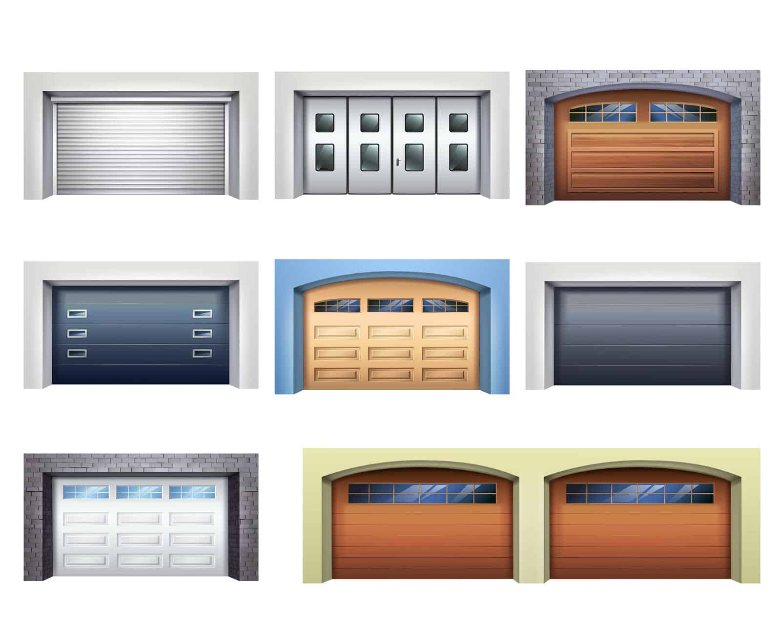 Select A Style Of Garage Door