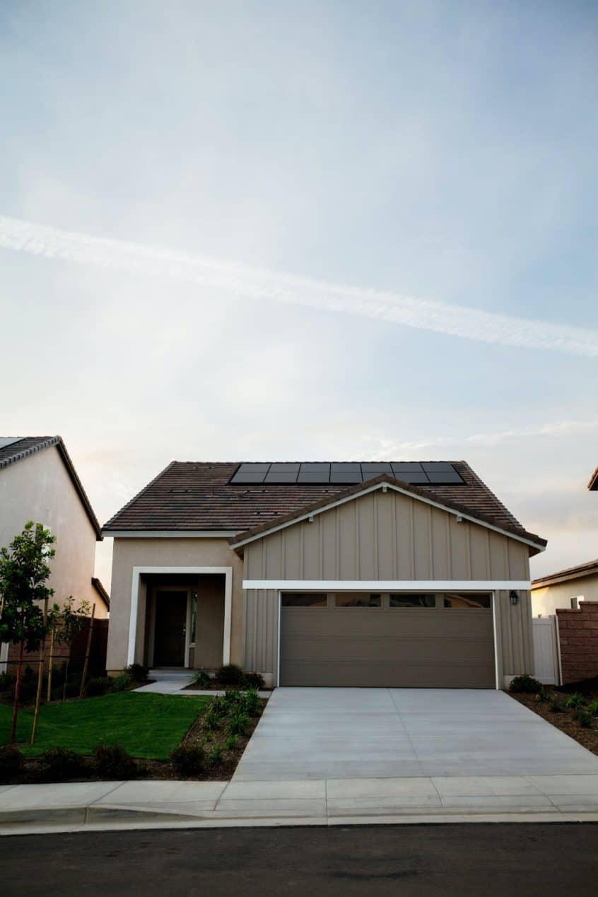 Home With Smart Garage Door Opener